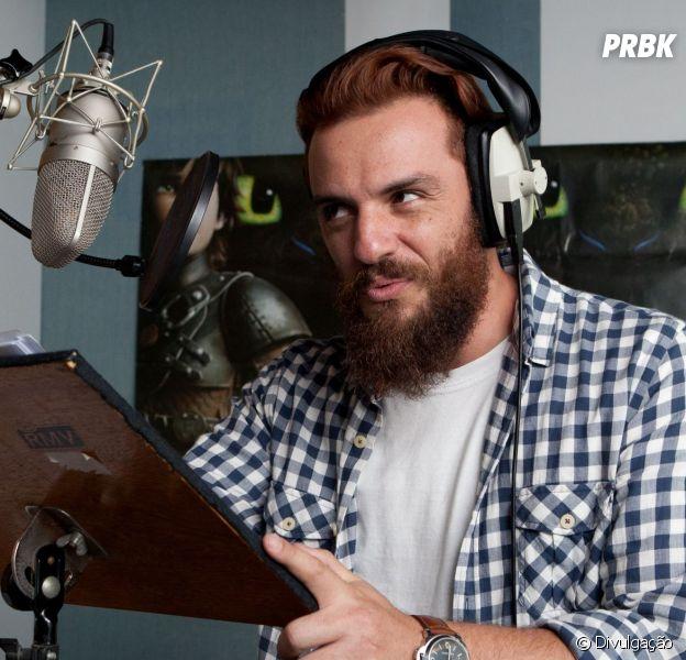"""Rodrigo Lombardi emprestará sua voz para Drago, o vilão da animação """"Como Treinar o Seu Dragão 2"""""""