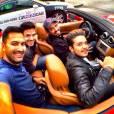 """""""Alugamos uma Ferrari e fomos conhecer a região, que é linda"""", lembra Luan Santana"""
