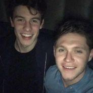 Niall Horan, do One Direction, e Shawn Mendes publicam foto juntos e fãs torcem por feat.!
