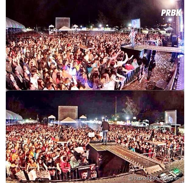 Gusttavo Lima leva multidões para seus shows