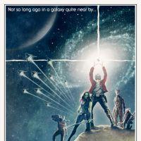"""Cartaz de """"Guardiões da Galáxia"""" criado por fã faz paródia com """"Star Wars"""""""