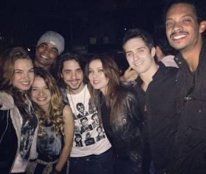 No Instagram de Lua Blanco, é possível ver uma foto de Guga Sabatiê ao lado dla