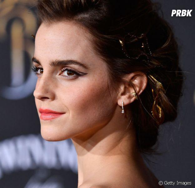 """Emma Watson recebe apoio dos colegas de """"Harry Potter"""" na estreia de """"A Bela e a Fera"""""""