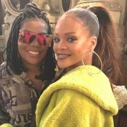 """Ludmilla encontra Rihanna durante evento em Paris e tieta a cantora: """"Cada dia mais fã!"""""""