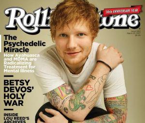 Ed Sheeran é capa da revista Rolling Stone!