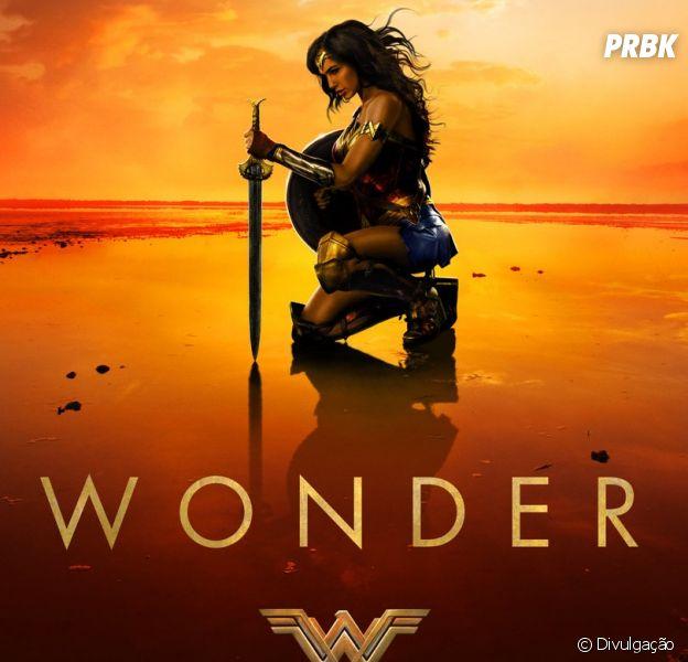 """O filme """"Mulher Maravilha"""" ganha novo cartaz antes da chegada do trailer!"""