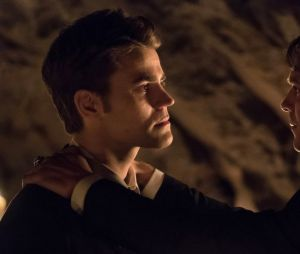 "Stefan (Paul Wesley) se sacrificou no lugar de Damon (Ian Somerhalder) em ""The Vampire Diaries"""