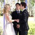 "Em ""The Vampire Diaries"",Stefan (Paul Wesley) deixou Caroline (Candice Accola) viúva"