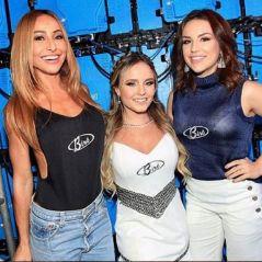"Larissa Manoela posa ao lado de Kéfera Buchmann e Sabrina Sato: ""Com essas lindas"""