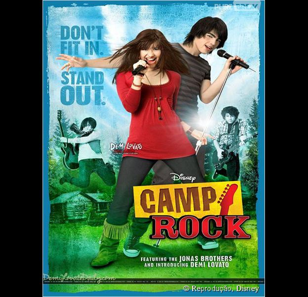 """Demi Lovato e Joe Jonas merecem um #tbtPB pelo filme """"Camp Rock""""!"""