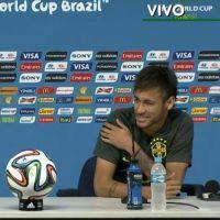 Neymar comenta ansiedade para estreia na Copa do Mundo horas antes do jogo