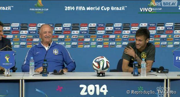 Neymar comenta estreia na Seleção Brasileira na Copa do Mundo, horas antes do jogo contra a Croácia