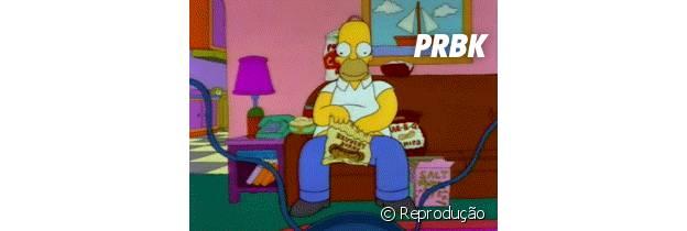 Homer comilão