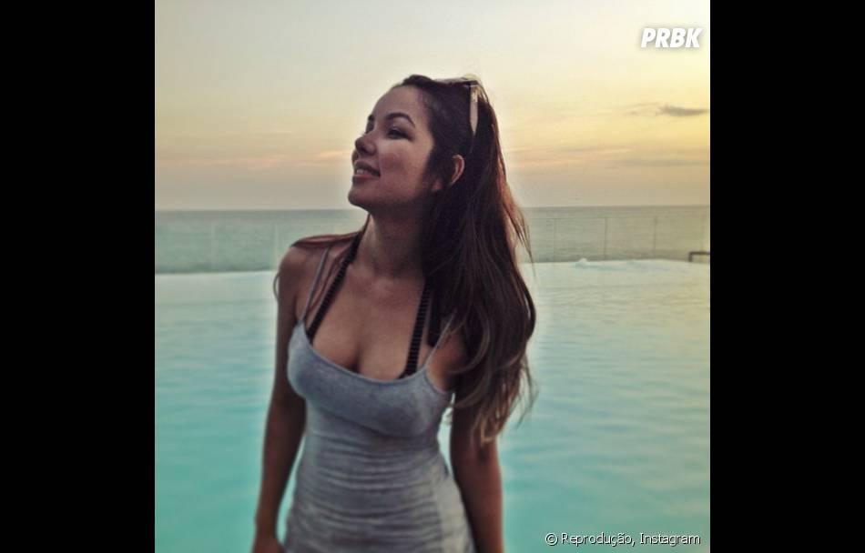 A cantora Liah Soares conta que malha em seu tempo livre