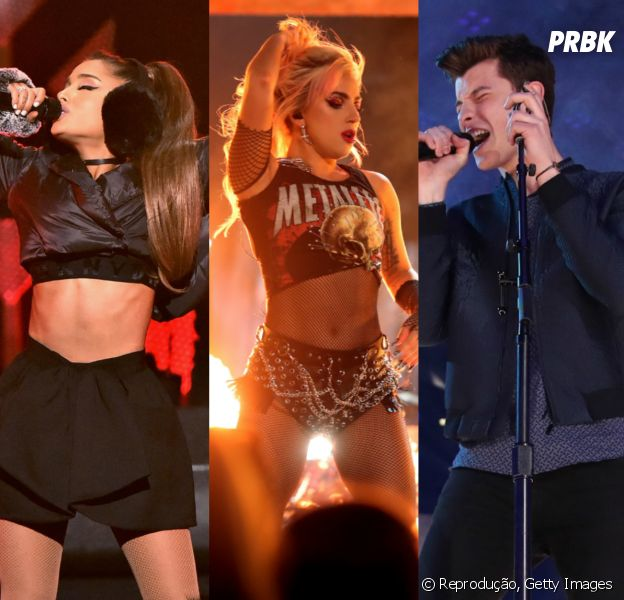 Ariana Grande, Lady Gaga, Shawn Mendes e outros astros incríveis farão shows no Brasil em 2017
