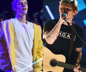 Justin Bieber e Ed Sherran poderiam escrever uma música juntos!