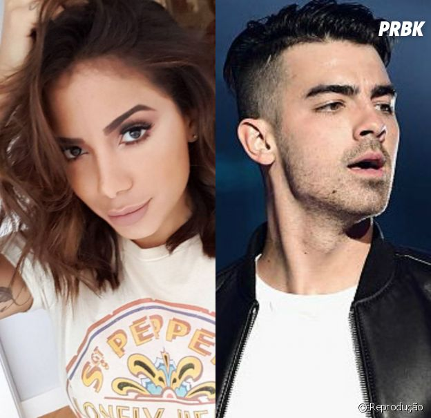 Anitta e Joe Jonas poderiam cantar juntos!