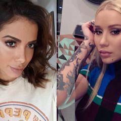 """Anitta e Iggy Azalea divulgam as primeiras fotos juntos durante gravação de """"Switch"""""""