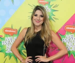 """Quem também esteve lá, no """"Meus Prêmios Nick 2013"""",foi a comediante Dani Calabresa"""