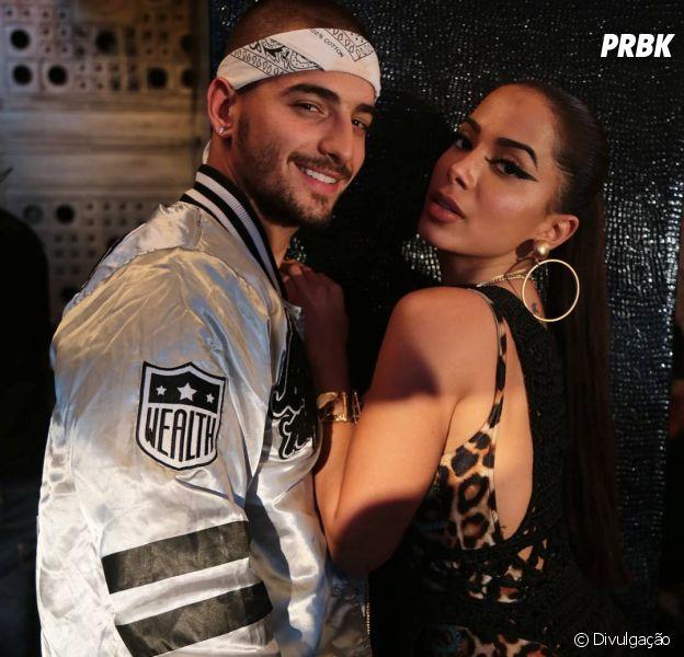 Anitta e Maluma no Brasil: cantora adianta alguns detalhes dos shows!