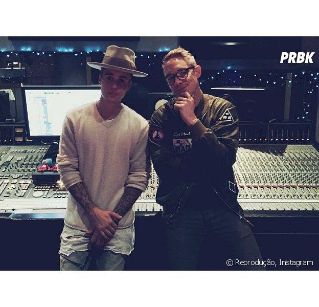 Justin Bieber faz rap em nova música com Diplo