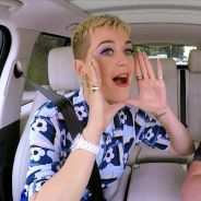 "Katy Perry participa do ""Carpool Karaoke"", com James Corden, e relembra todos os seus hits!"