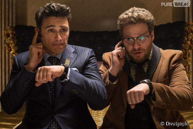 """James Franco e Seth Rogen estrelam comédia """"The Interview"""""""