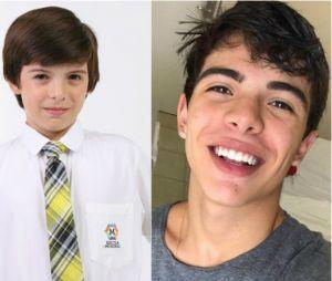 """Thomaz Costa vivia Daniel em """"Carrossel"""", um aluno exemplar, que hoje rouba nossos corações!"""