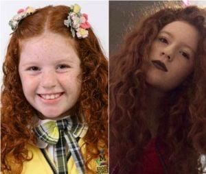"""Victoria Diniz interpretava a gringa Bibi em """"Carrossel""""! Que saudadinha do sotaque dela <3"""