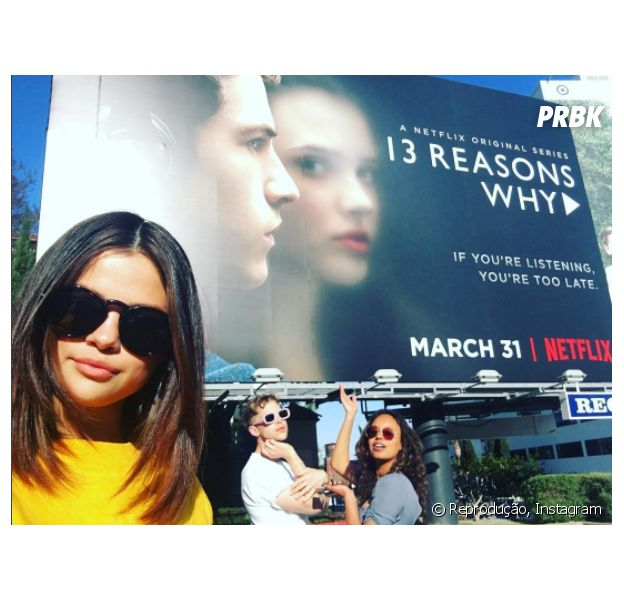 "Selena Gomez defende ""13 Reasons Why"" após críticas"