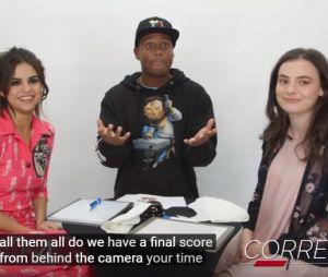 """Selena Gomez participa de duelo contra fã, no quadro """"Fan Vs. Artist"""" da iHeartRadio"""