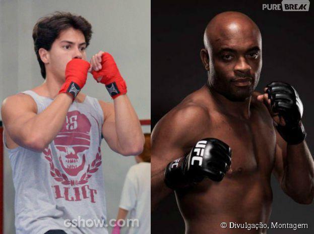 """Arthur Aguiar conta que se inspira em Anderson Silva para interpretar lutador em """"Malhação"""""""