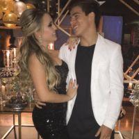 Larissa Manoela curte festa com Thomaz Costa em clima de romance!