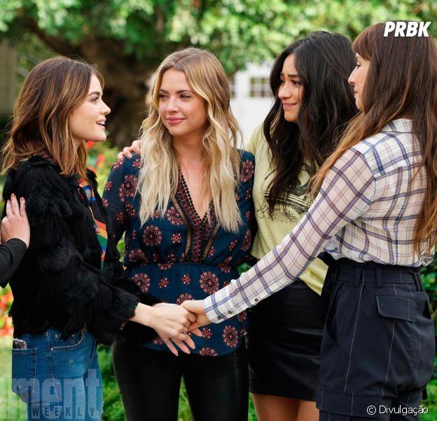 """Em """"Pretty Little Liars"""", saiba o que já foi divulgado sobre o último episódio!"""