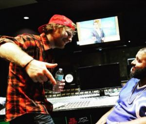 Ed Sheeran já está acertando os detalhes de uma parceria com o Dj Khaled