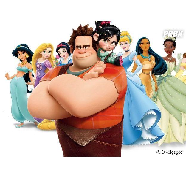 """Em """"Detona Ralph 2"""": participações das Princesas da Disney são divulgadas na animação"""