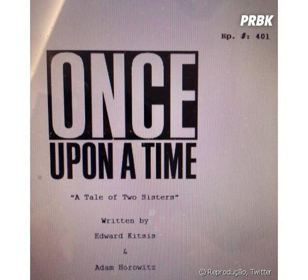 """Adam Horowitz divulgou o nome do primeiro episódio de """"Once Upon a Time"""""""