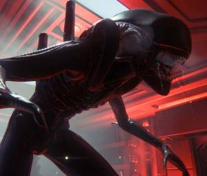 "A criatura Alien do jogo ""Alien: Isolation"""