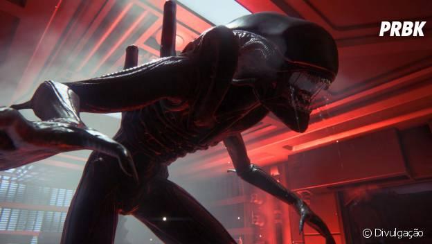 "A criatura Alien do jogo ""Alien: Isolation"""