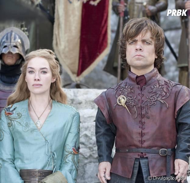 """Lena Headey (Cersei) e Peter Dinklage (Tyrion) estão indicados nas categorias de Atriz e Ator Coadjuvantes por """"Game of Thrones"""""""