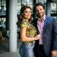 """Em """"A Força do Querer"""", Bibi (Juliana Paes) e Caio (Rodrigo Lombardi) já foram casados, mas Rubinho (Emílio Dantas) não sabe disso"""