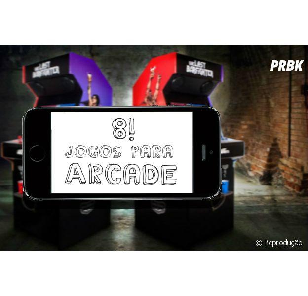 Conheça 8 jogos arcade para smartphone!