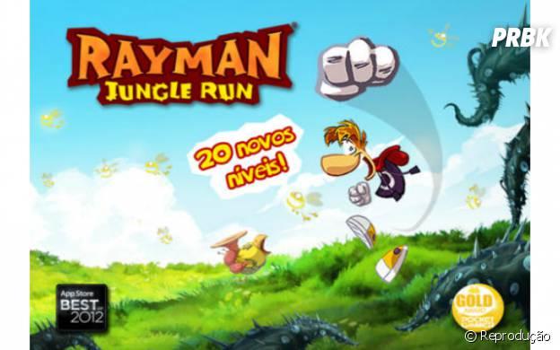 """""""Rayman Jungle Run"""" é uma mistura de ação com aventura"""