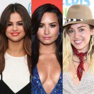 Selena Gomez, Demi Lovato, Miley Cyrus e o Antes e Depois das atrizes que fizeram sucesso na Disney!