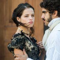 """Final """"Novo Mundo"""": Dom Pedro (Caio Castro) admite que ama Domitila (Agatha Moreira)"""