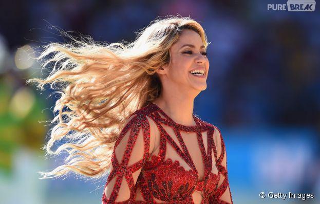 Shakira brilha na festa de encerramento da Copa 2014