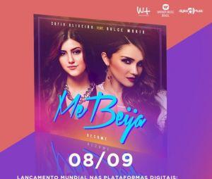 """Ouça trecho de """"Me Beija"""", parceria entre Dulce Maria e Sofia Oliveira!"""