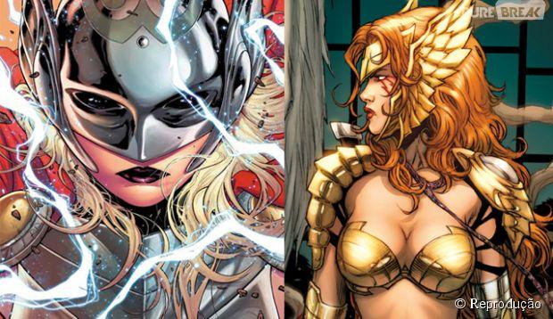 Thor vai perder seu poder de deus do trovão para uma mulher