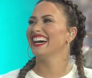 "Demi Lovato canta ""Sorry Not Sorry"" no ""Today Show"". Assista!"