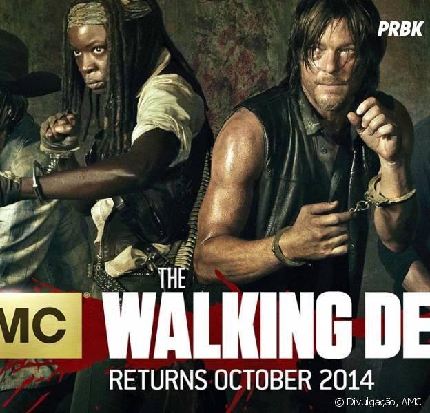 """Todos aparecem em perigo na nova foto de """"The Walking Dead"""""""